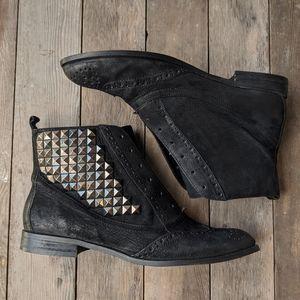 Sam Edelman's Joss Studded Bootie Leather